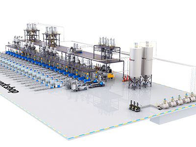 Application of powder automatic dosing system in plastic extrusion industry
