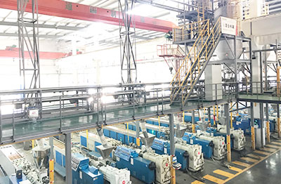 PVC Powder Full-automatic Compound And Conveying System