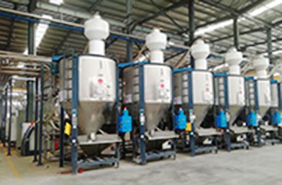 PVC Granular full-automatic Dosing And Conveying System