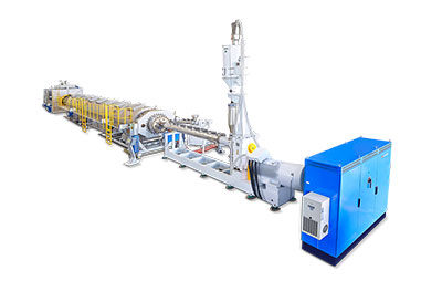 HDPE Pressure and  Gas Pipe Production Line