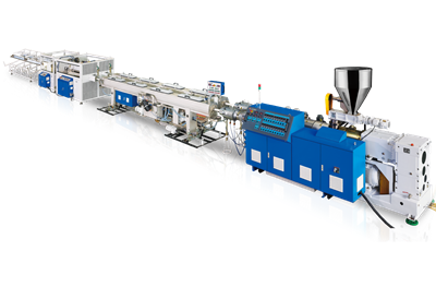 UPVC Dual Pipe Production Line