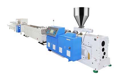 PVC Four Pipe Production Line