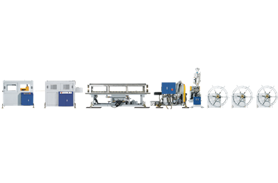 LS-HDPE Spiral Cable Duct Production Line