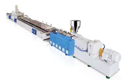 LS-PVC Door Panel Production Line